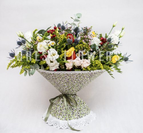 Хлопок (мелкие цветы)
